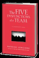 five behaviors of a cohesive team book disc partners